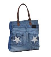 Tasche Jeans & Sterne No°1