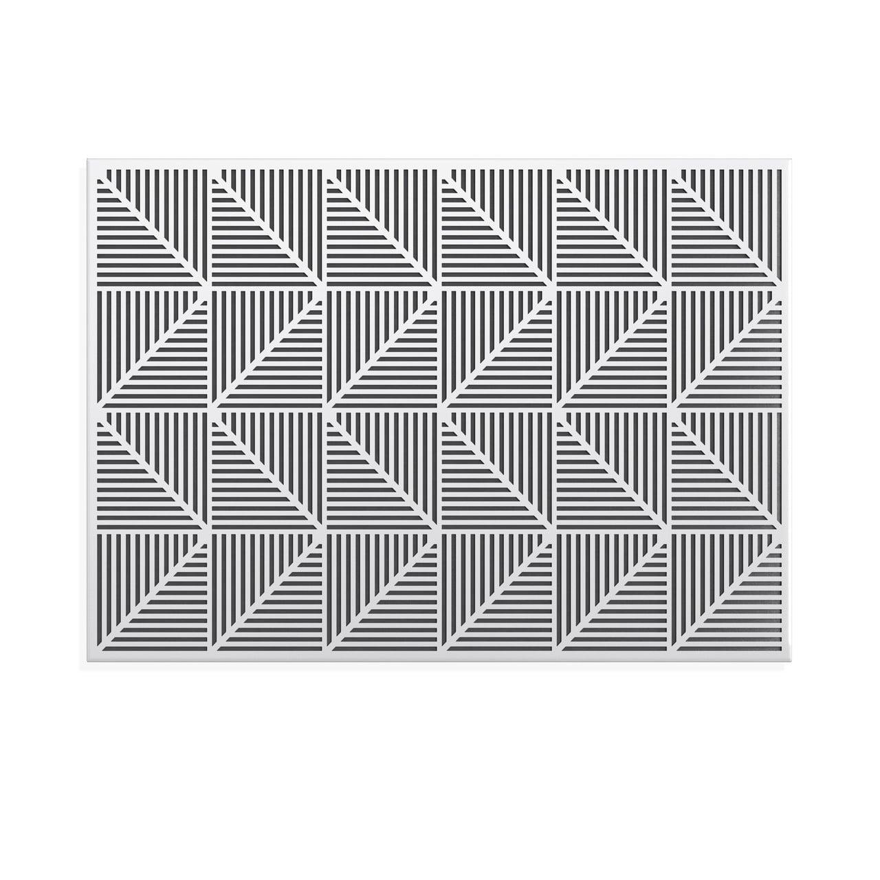 TRIGON Magnettafel & Pinnwand, weiß