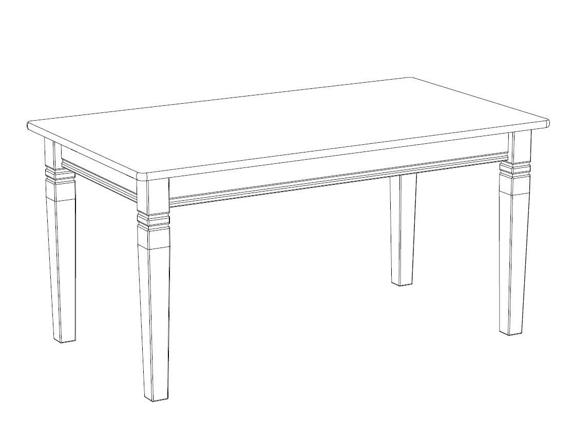 Esstisch X-Line, 160 cm