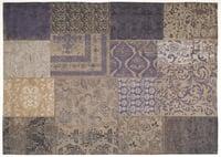 Vintage-Teppich Patchwork dark-blue