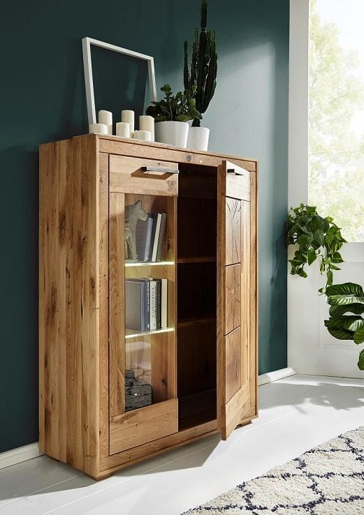 Highboard I WZ-0315, Glastür links