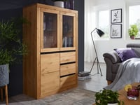 WZ-0059 Highboard I eichefarbig