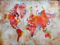 Wandbild Mundo