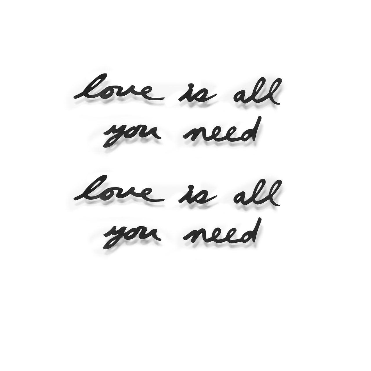 MANTRA Schriftzug Love