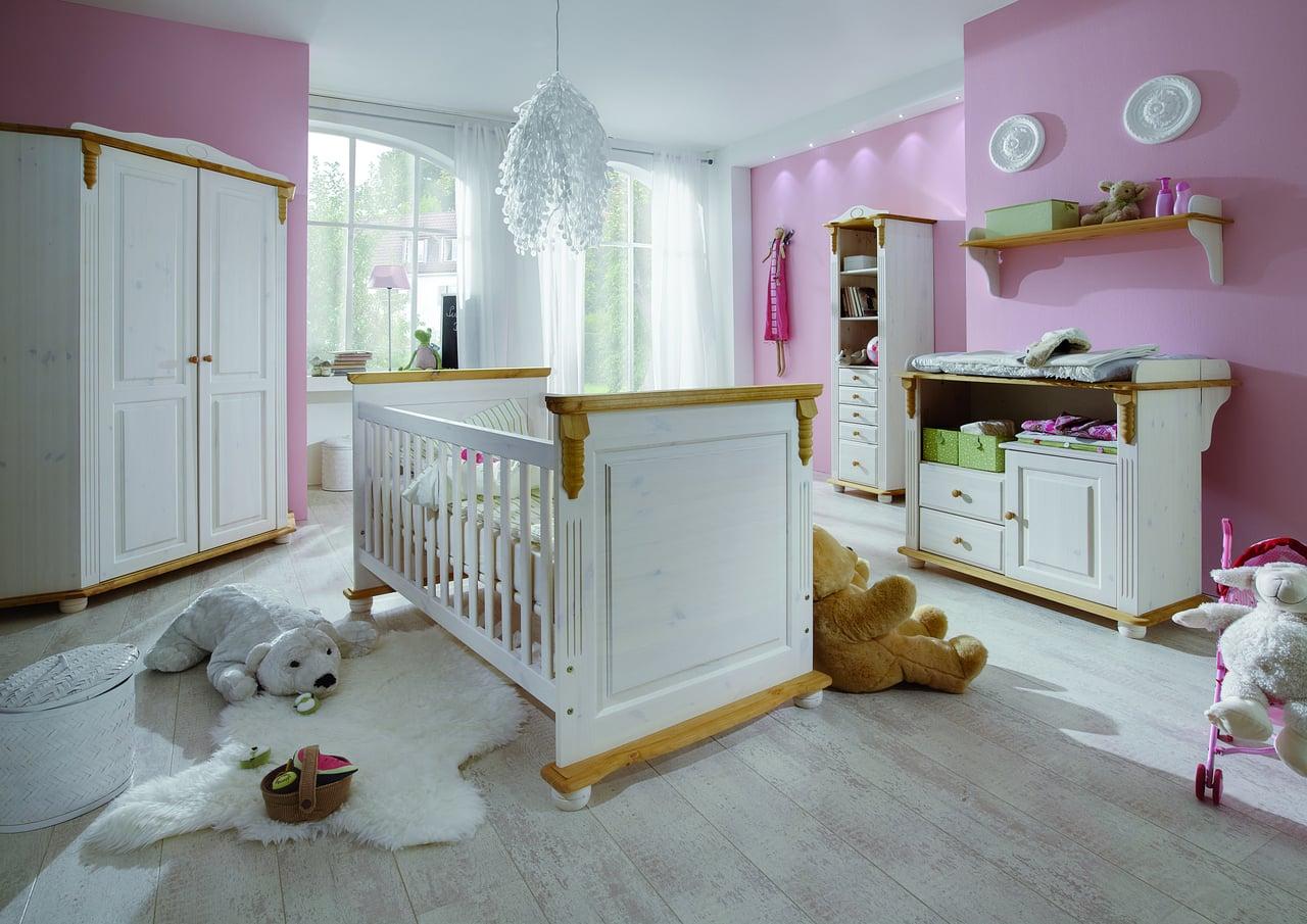 Umbauseiten für Kinderbett Romantik 107-X