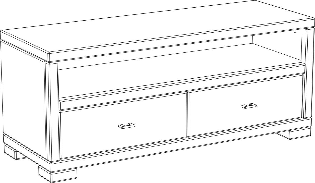 Vita Lowboard, 120 cm
