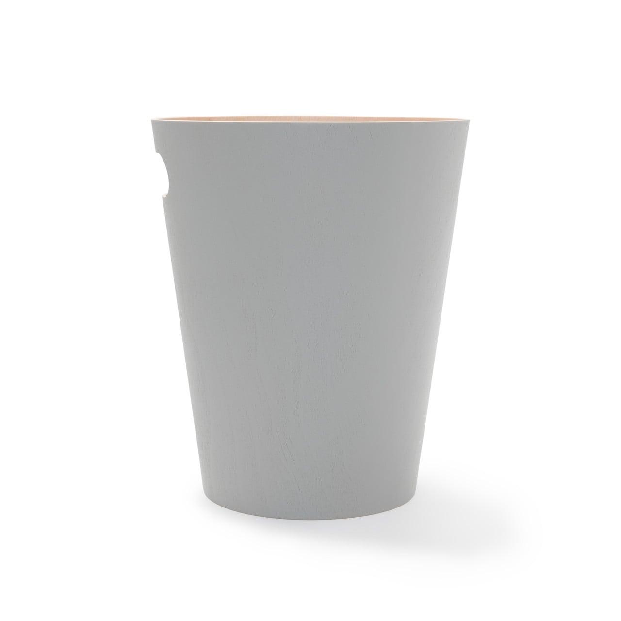 WOODROW Papierkorb, grau