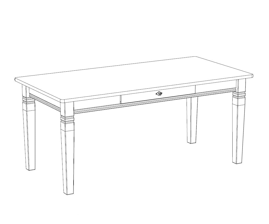 Esstisch X-Line, 180 cm