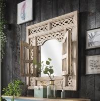 Wandspiegel mit 2 Türen