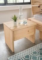 Rustiko Nachttisch, Fichte Massivholz