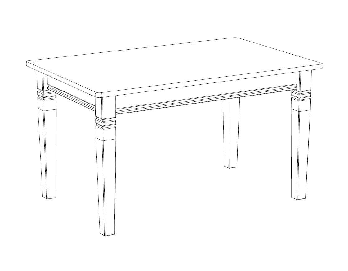 Esstisch X-Line, 140 cm