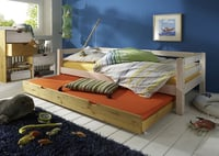 Einzelbett mit Bettschubkasten