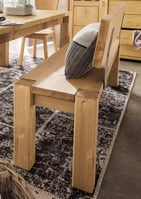 Vita Sitzbank, mit Rückenlehne