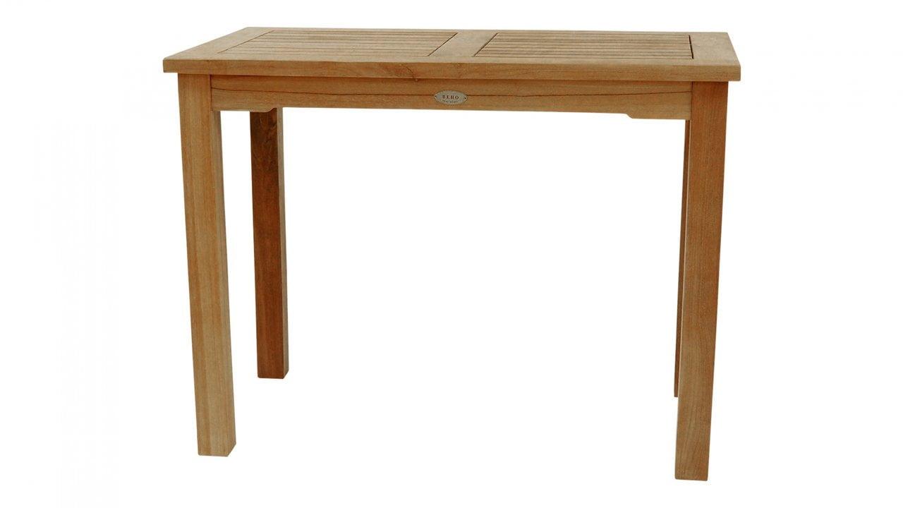 Teak Gartentisch / Konsole 100x 55 cm