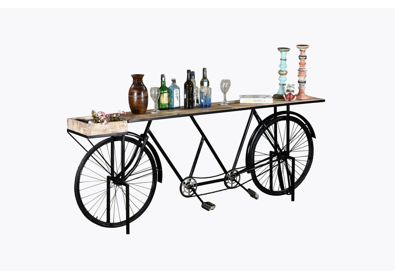 Unikat Fahrrad-Konsole Tandem